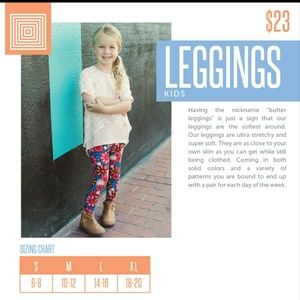 Brand new kids Lularoe leggins